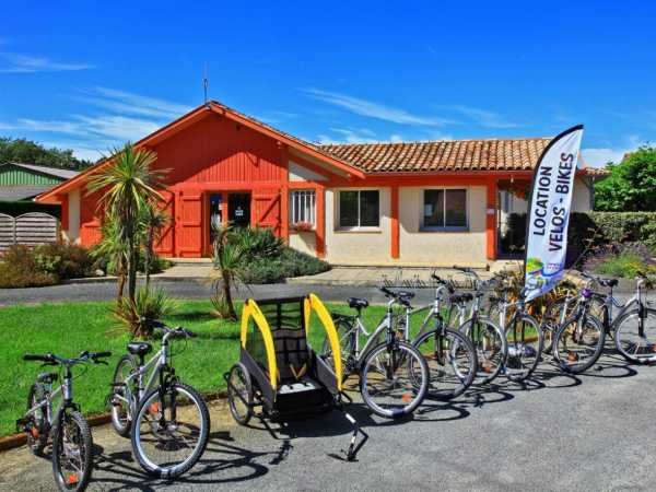 réception bureau accueil camping informations touristiques landes
